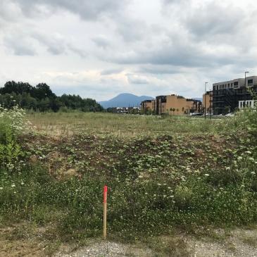 zakoličba zemljišča - soseska Novo Brdo,16.7.2018