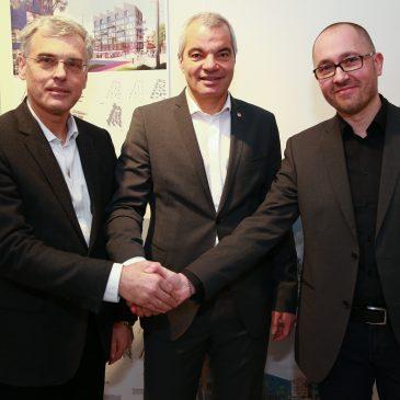 Mag. Črtomir Remec, Saša Arsenovič in Gregor Reichenberg